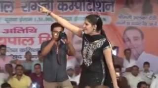 Sapna Dance On New Haryanvi Song-chand Zammen Peh La Dunga