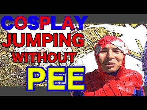 おしっこ我慢してバンジージャンプ2話 Bungee jumping and I don't pee .2nd