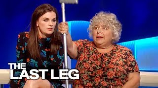 Aisling Bea & Miriam Margolyes Thank The NHS - The Last Leg