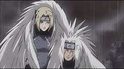 Jiraiya, Orochimaru & Tsunade vs Hanzo The Salamander - Konoha Sannins During The 3rd Great War!