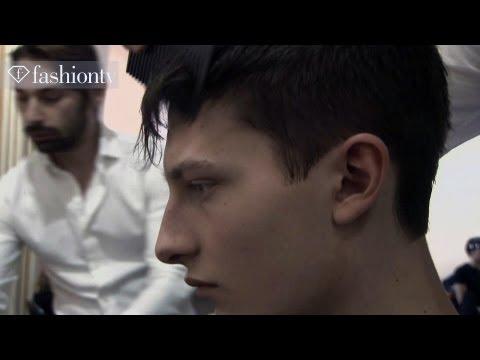 Male Models Backstage at Nicole Farhi Men Fall/Winter 2012-13   Milan Men's Fashion Week   FashionTV