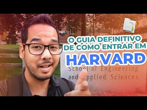 O GUIA de como entrar em HARVARD | Matheus Tomoto