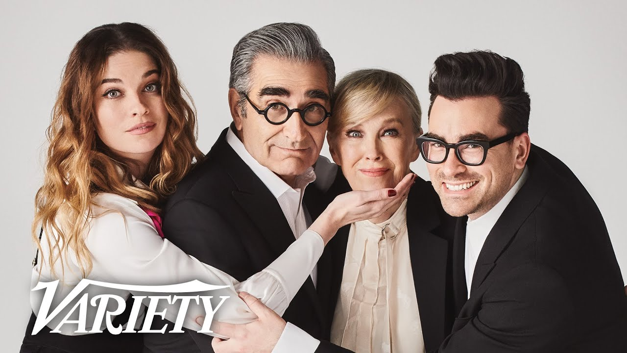 The 'Schitt's Creek' Cast On Their Final Season and Why Their Show's Name Caused Some Problems