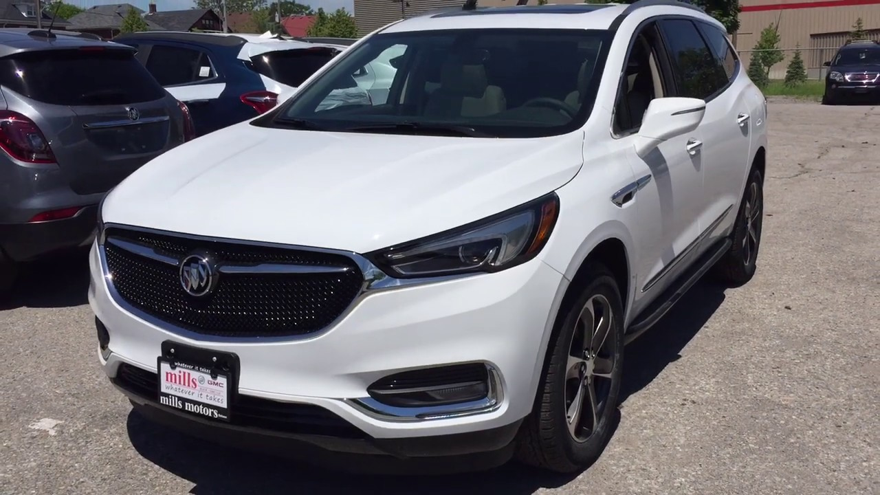 2019 Buick Enclave Fwd 4dr Essence Review Oshawa Null Mills Motors Buick Gmc