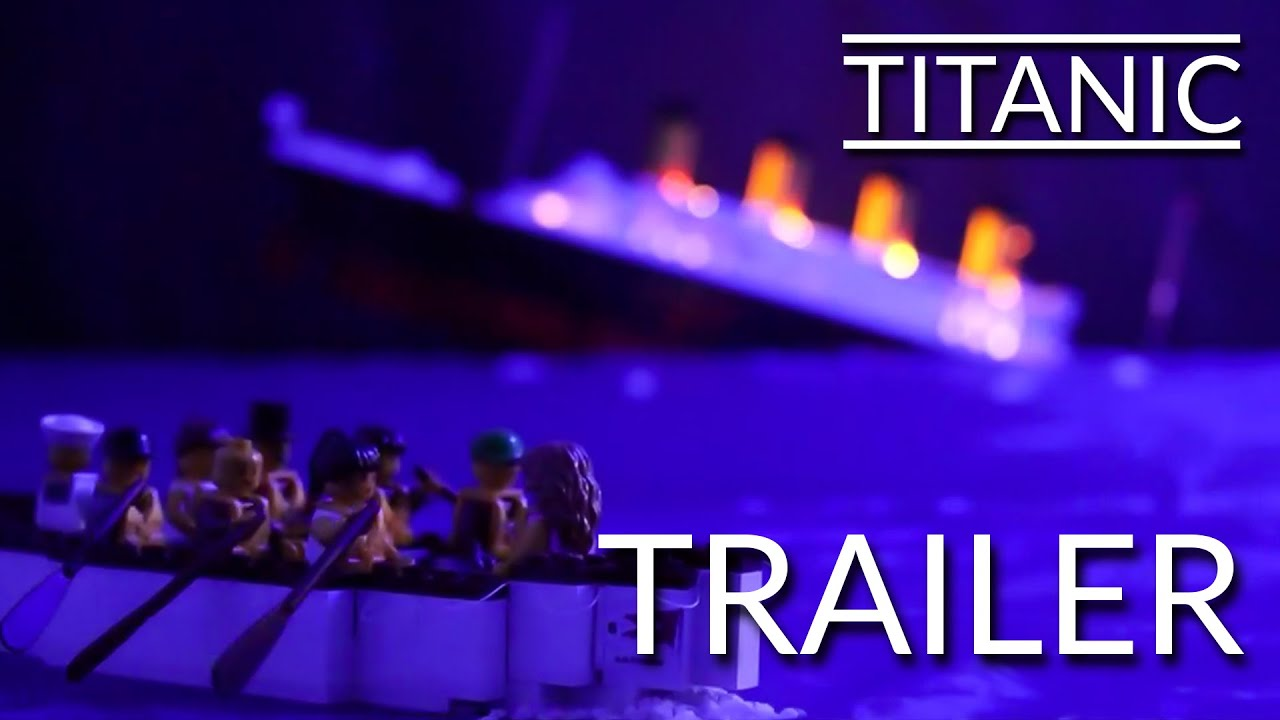 LEGO Titanic Trailer