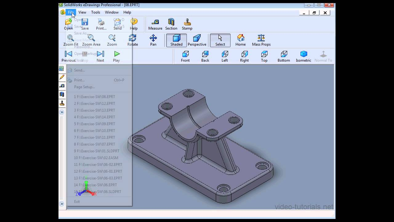 SolidWorks 2013 eDrawings - STL FIles - 08