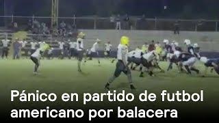 Balacera suspende partido de fútbol americano en Sonora - En Punto con Denise Maerker thumbnail