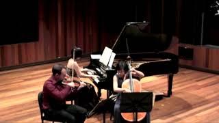 Ravel piano trio. Talcott trio