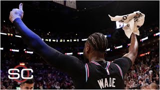 SportsCenter counts down the top 10 plays of Dwyane Wade's entire career, featuring these plays while with the Miami Heat: No. 10 (0:05) Blocking Amar'e ...