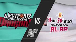 Westports Malaysia v San Miguel Alab Pilipinas | Highlights | 2018-2019 ASEAN Basketball League