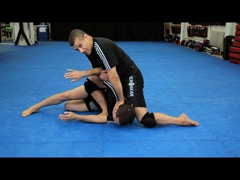 How To Do An Arm Bar From Mount | MMA Submissions