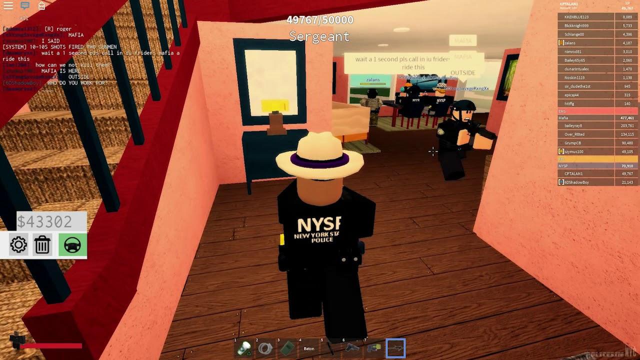 Roblox Police Sim: NYC Episode 2 - Prisoner Transport and Hostages