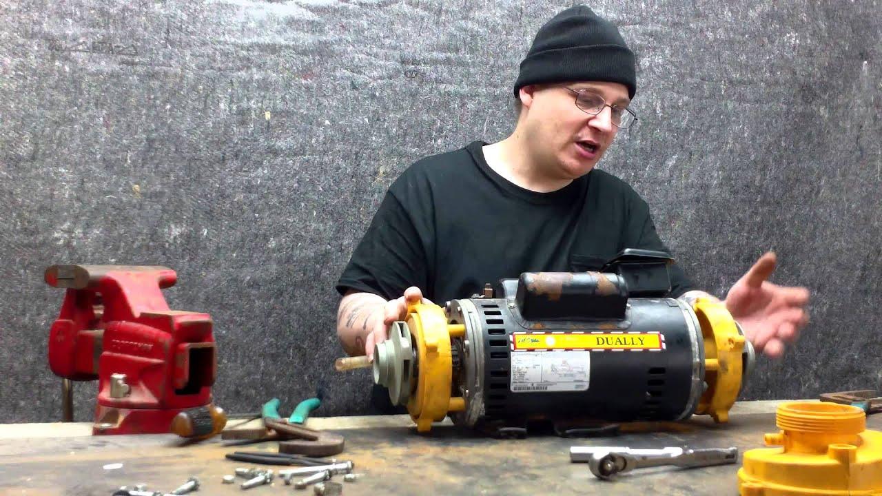 Cal spas dually pump mod 5kcr49wn2370bx repair step 009 for Cal spa dually pump motor