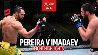 Full-on showboating! Michel Pereira v Zelim Imadaev | UFC Highlights