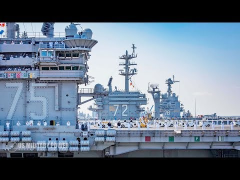Here's 5 Biggest Aircraft Carriers In The US Military