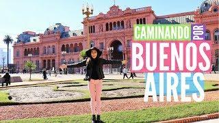BIA em BUENOS AIRES: Casa rosada, Andamos MUITO, Cemitério, Obelico e muito mais #2 | Pelo Rio Blog
