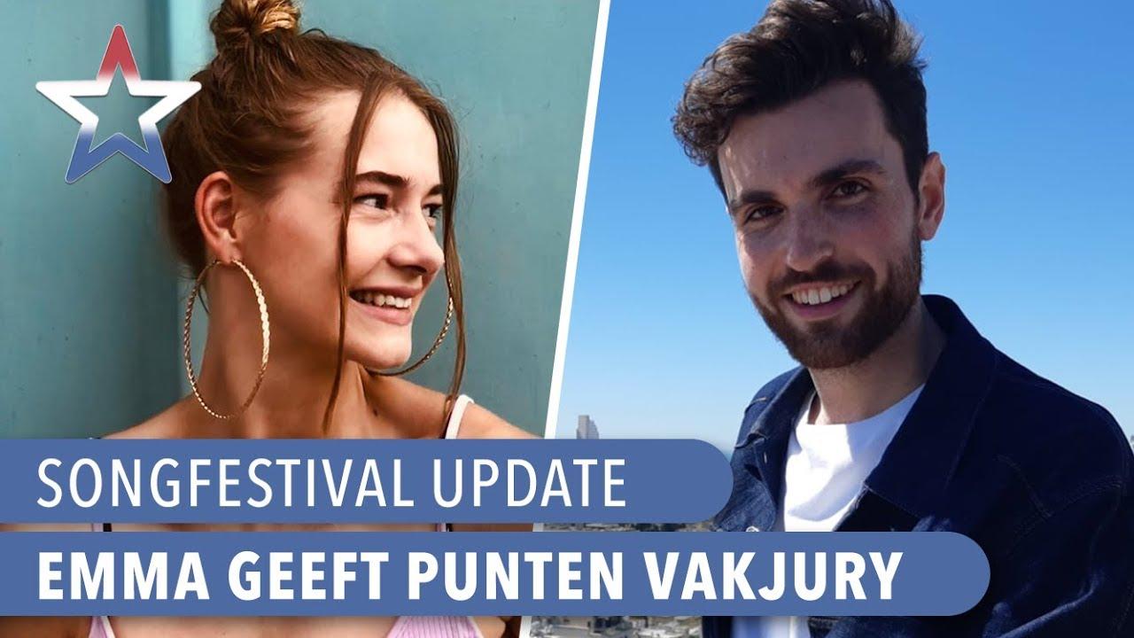 Puntengever Emma Wortelboer Wil Songfestival Presenteren Songfestival Update