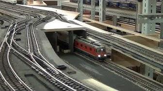 Inbetriebnahme der Untertunnelung Frutigen der BLS