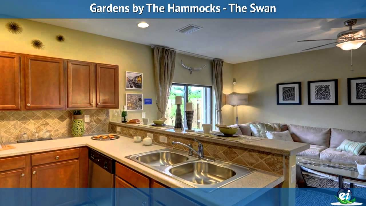 Gardens by The Hammocks - The Swan Model Home - YouTube