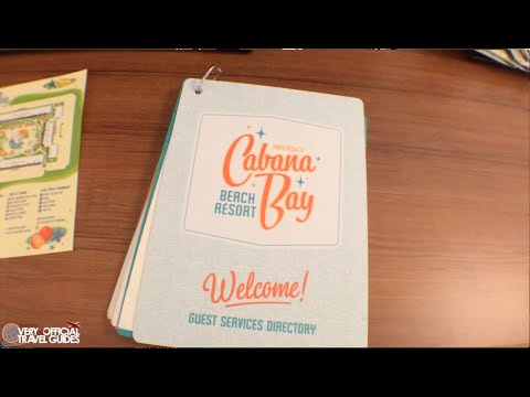 Universal's Cabana Bay Beach Resort Tour (giveaway now over)