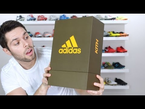 Soccer Reviews For You | THESE ARE SUPER RARE! – KITH X Adidas Nemeziz Tango 17.1 TR – Review + On Feet