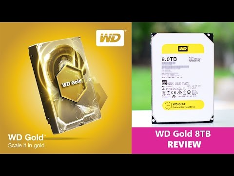 Western Digital GOLD 8TB HDD REVIEW