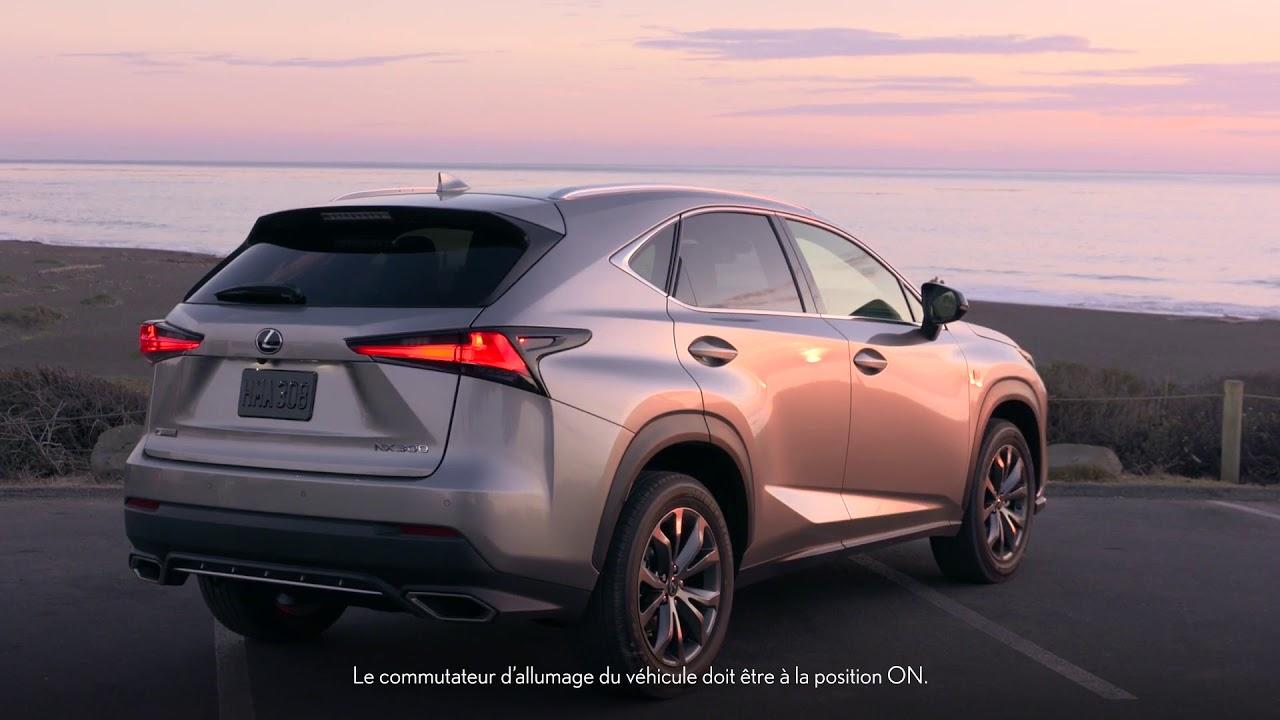 Connaissez votre Lexus : Mode de verrouillage de la traction intégrale