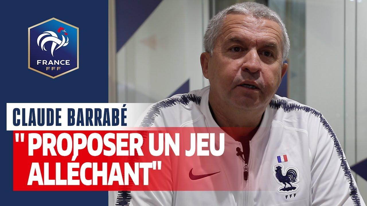 """Equipes de France - Claude Barrabé : """"J'aime le beau jeu"""" - FFF"""