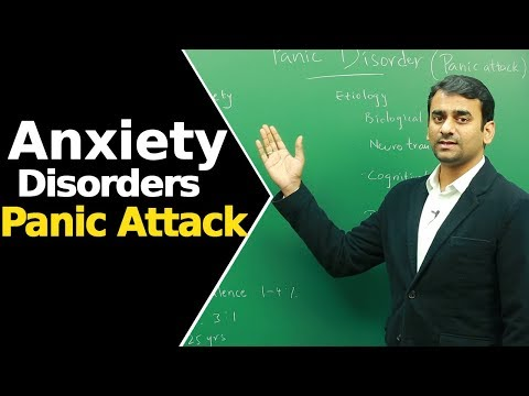 Panic Disorder/ Panic Attack  | Anxiety Disorders | Psychiatry Disorder |