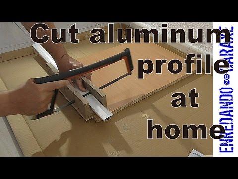 how to cut through aluminum