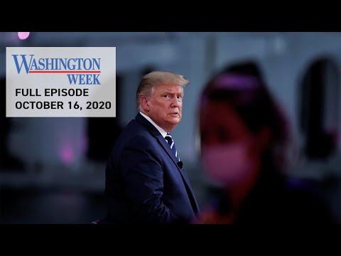 #WashWeekPBS Full Episode: President Donald Trump & Joe Biden Host Dueling Town Halls