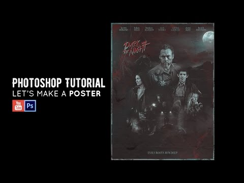 Let's Make a Poster | Photoshop Tutorial