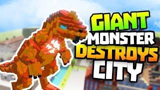 Super Man or Monster Game - Fynnpire becomes Bowser Monster to destroy city in Superman or Monster!