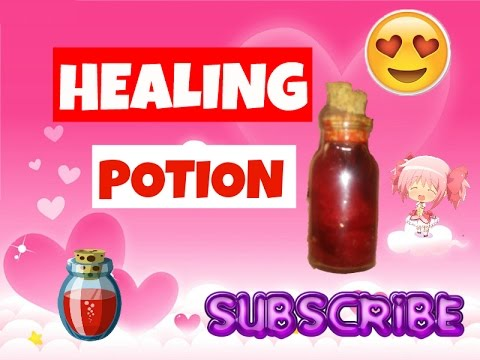 HOW TO MAKE A HEALING POTION (ORNAMENT)