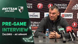 "Jasikevicius: ""The Milano team is one of the most talented in EuroLeague"""