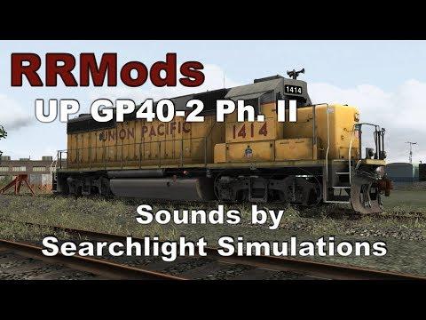 Train Simulator : RRMods UP GP40-2 Ph. II Showcase