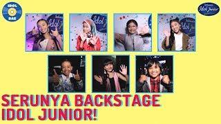 Michael & Raisya gak bisa diem di Backstage! |IDOL BAE (Backstage Anything Else)