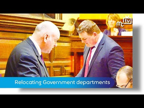 March Tynwald: Relocating Government departments