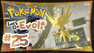 Zapdos im Kraftwerk ★ #25 ★ Pokémon Let