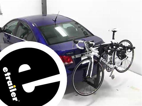 Thule Hitching Post Pro Hitch Bike Rack Review - 2013 Chevrolet Cruze - Etrailer.com