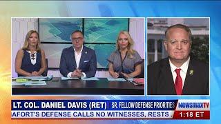 Lt. Col. Daniel Davis (Ret) discusses N Korea Leader