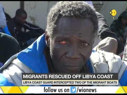 Libya coast guards rescues several hundred migrants