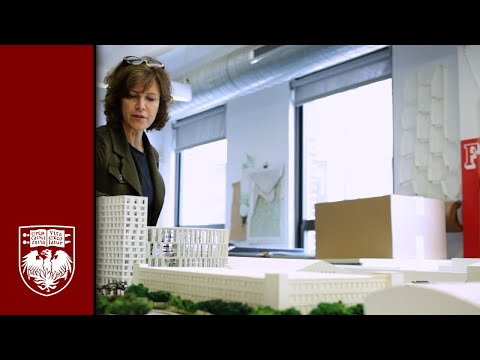 Architect Jeanne Gang Introduces the New Residence Hall
