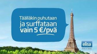 Puhu ja surffaa EU:n alueella rajattomasti | Elisa