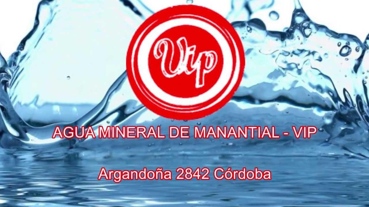 AGUA MINERAL DE MANANTIAL - VIP - YouTube