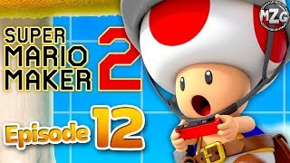Taskmaster Toad Jobs! - Super Mario Maker 2 Gameplay Walkthrough - Part 12