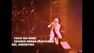 Faith No More - Estadio Obras Sanitarias, Buenos Aires Agentina (1991)