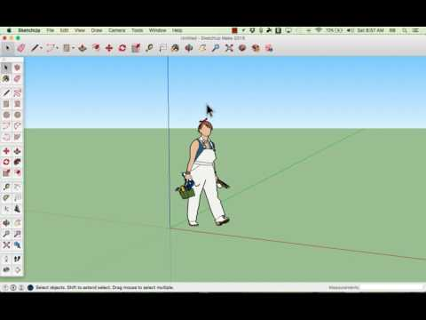 Google SketchUp Basics Tutorial 2016