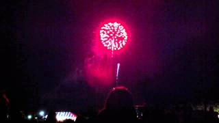 fireworks after Florida Orchestra