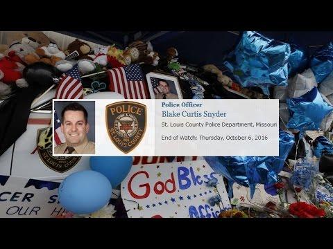 In Memory Of Officer Blake Snyder STLCOPD